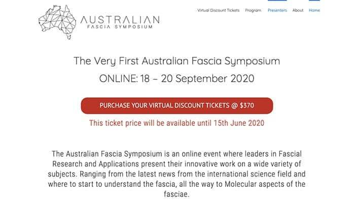 Australian Fascia Symposium