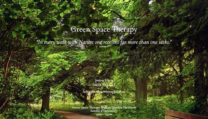 Green Space Therapy