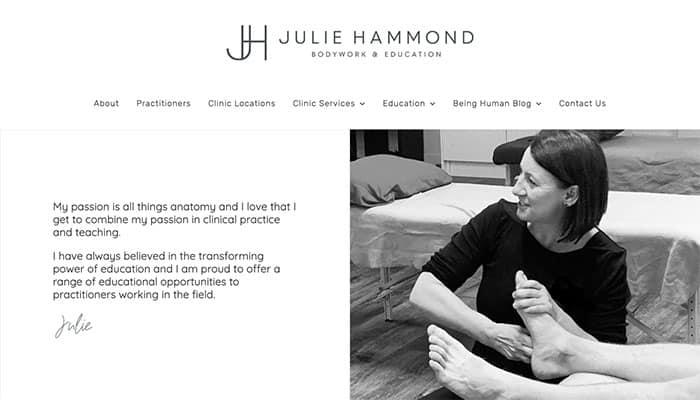 Julie Hammond practitioner