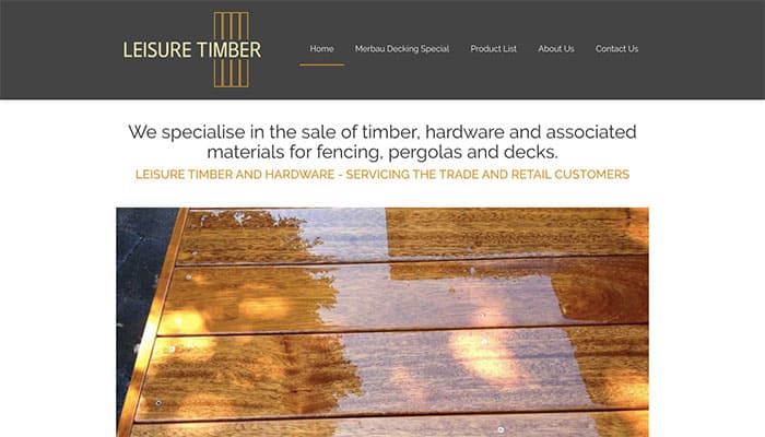 Leisure Timber